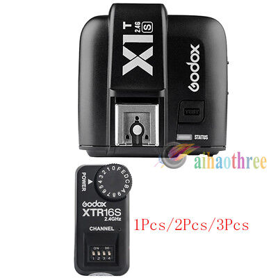 Godox X1T-S TTL HSS 1/8000s Flash Trigger Transmitter + XTR16S Receiver For Sony