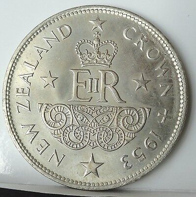 1953 New Zealand, Crown,  Brilliant  Uncirculated