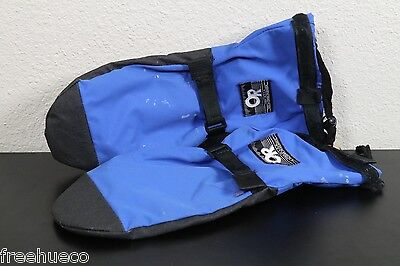 OUTDOOR RESEARCH OR GoreTex Shell Mitts w/Fleece Liners -Blue -Size Medium