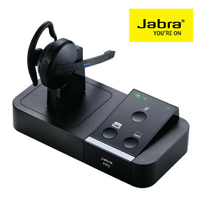 NEW  Jabra Pro 9450 Dect Wireless Mono Desk & Softphone Headset