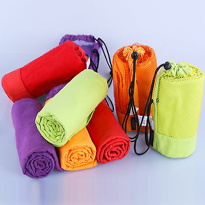 Microfiber Towel Bath Gym Sport Towel Footy Travel Camping SwimFast Quick Drying