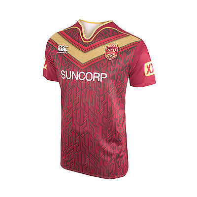 QLD Maroons State Of Origin 2017 CCC Training Jersey Adult & Kids Sizes!