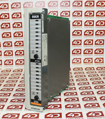 Modicon AS-B808-016 Output Module 16 Point 230 VAC - 984 Series - Used