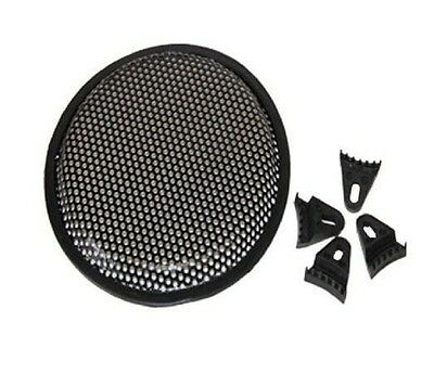 "1pair 12"" Steel Speaker Subwoofer Sub Waffle Mesh Grill Cover w/ Clips & Screws"