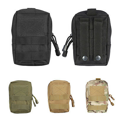 Outdoor Medical First Aid Kit Survival Tactical Bag Pouch Emergency Waist Case