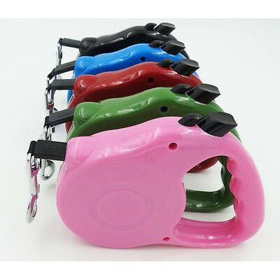Retractable Dog Leash Extending Puppy Walking Leads Pet dog cat Tracktion Ropes