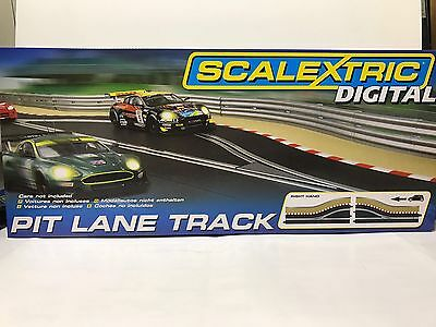 Scalextric C7015, Pit Lane Track (Right Hand) - Includes Sensor