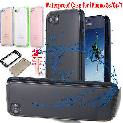 Waterproof Dirtproof Shockproof Thin Case Cover For iPhone XS Max XR X 7 8 Plus