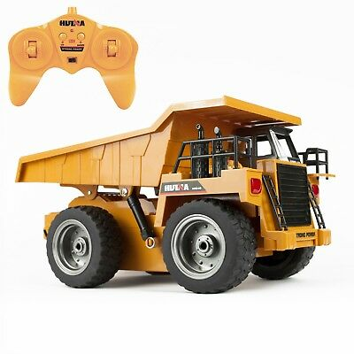 RC  Radio Controlled Dump Truck Dumper Loader Kids Construction Toy 1:18 Scale