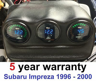 Triple Gauges Pod Holder for Subaru Impreza 52mm dials boost oil temp pressure