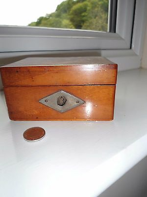 Vintage small wooden box