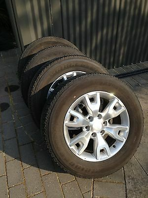 Ford Px Ranger Wild track Wheels And Tyres