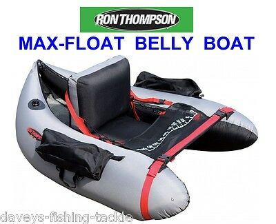 Ron Thompson Belly Boat Float Tube For Sea Coarse Catfish Rod Fishing Clonking