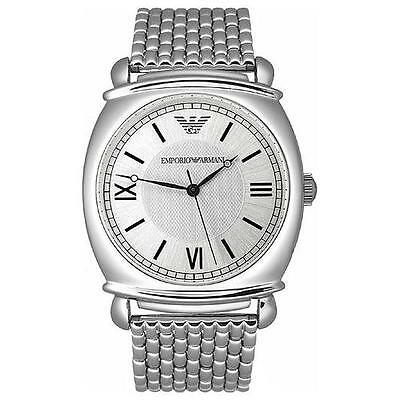 Emporio Armani AR0283 Mens Watch: Quartz Stainless Steel