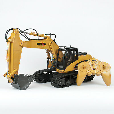 Radio Controlled RC Digger Excavator Loader Truck Construction Toy 1:14 Scale