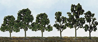 "JTT Scenery N to HO Scale Deciduous Trees - 40/Pack  * 2.5"" - 4.5"" Tall *"