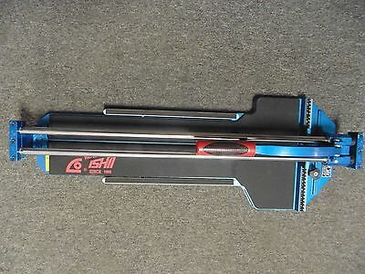 Ishii JW-720STA 28 3/4 Big Clinker Tile Cutter - Used - Near Perfect Condition