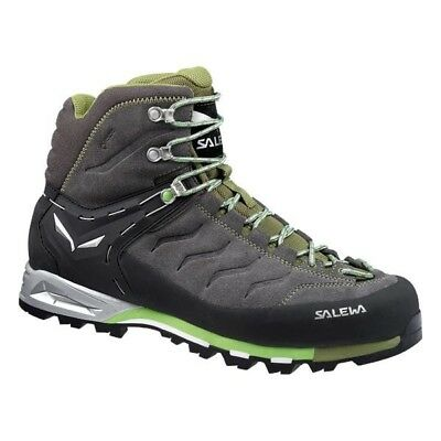 SALEWA Mountain Trainer Mid Gtx scarpone uomo Pewter Emerald