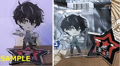 Japan Limited Persona5 cafe 2D figure stand HERO Persona 5
