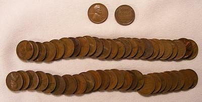 Roll Of 50 1931-P Lincoln Wheat Cents!!  Nice Coins!!