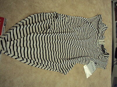 Rehab bodysuit size medium black and white brand new with tags