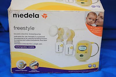 Medela Freestyle Deluxe Double Electric Breastpump - New in Open Box