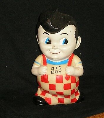 Vintage Big Boy Bank Restaurant Doll (Rubber)