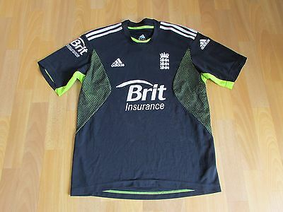 Adidas ENGLAND Brit Insurance CRICKET Shirt ADULT Size 38 - 40 inch