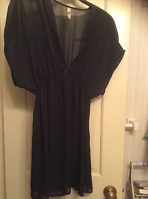 Victoria's secret black lingerie size S