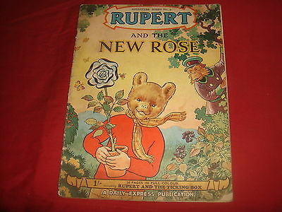 RUPERT THE BEAR ADVENTURE SERIES #9 and The New Rose G
