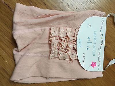 Girls Pink Tights BNWT Size 1-2 Years