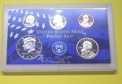 USA uncirculated proof coins in presentation pack for 2002