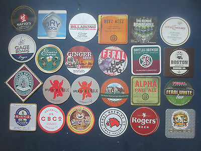24 Different Western Australian MICRO BREWERIES Issue collectable COASTERS