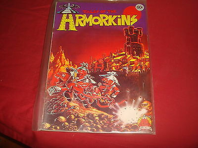 TALES OF THE ARMORKINS #1 Larry Todd Underground Comix VG 1970