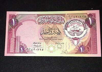 Central Bank Of Kuwait 1 Dinar Banknote L1968(1980-91)pic13d