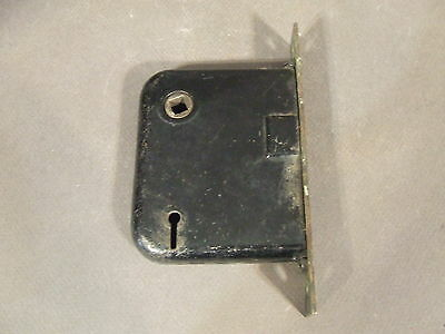 Antique Vintage Door Mortise Lock Skeleton Key Hole For Repair Missing Parts(60)