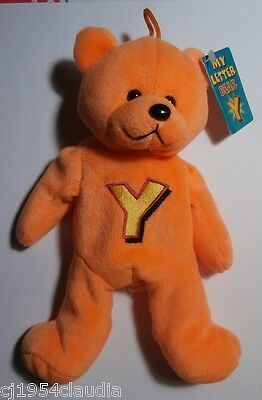 """Gifted Bears By Skansen """"my Letter Bear""""  Letter """"y""""  New (Tag Stain)"""
