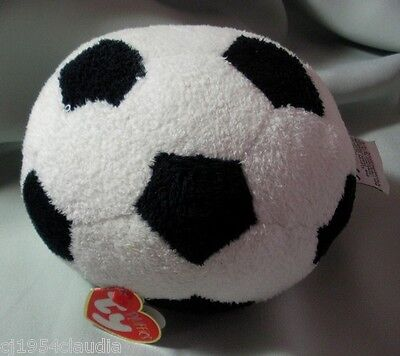 """Ty Pluffies """"soccer Ball"""""""