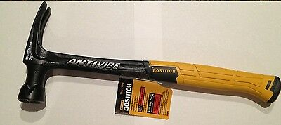 Bostitch 28 Oz Checker Face Steel Antivibe Framing Hammer 51-858 New