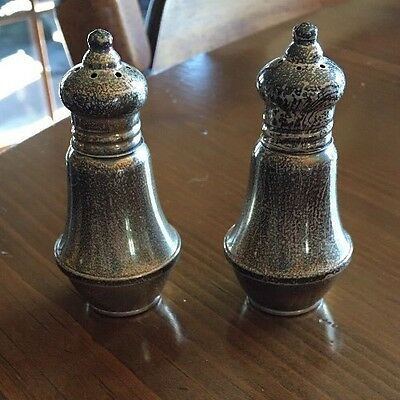 Vintage Duchin Creations Sterling Silver Salt And Pepper Shakers
