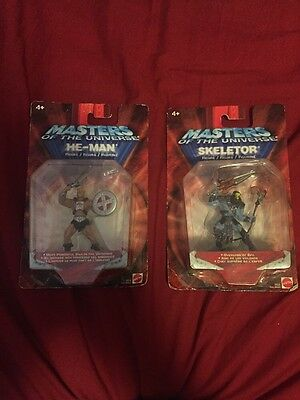 """Masters Of The Universe He Man And Skeletor 2.75"""" Figures"""