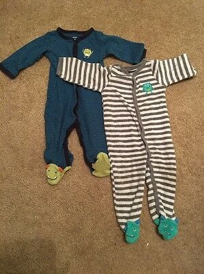 6-9 month boy sleepers carters
