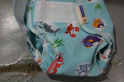 Printed Nappy cover reusable S