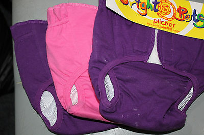 Three  Nappy cover reusable Size 0