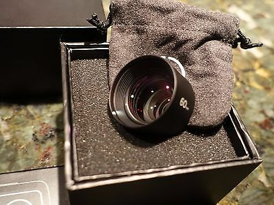 Moment Telephoto 60mm Mobile Photography Lens with original box & Nexus 5 mount