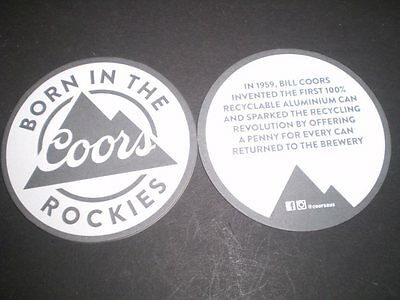 Beer advertising coaster from Australia............  Coors