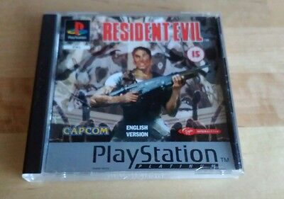 Juego Resident Evil Sony Playstation 1 Ps1 Game New!!