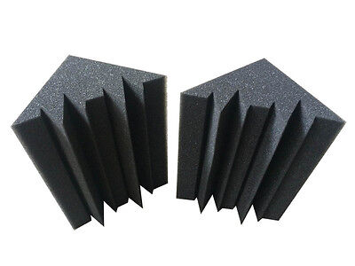 2PCS Wall Stickers Bass Trap Acoustic Panels Absorption Foam Music Treatment