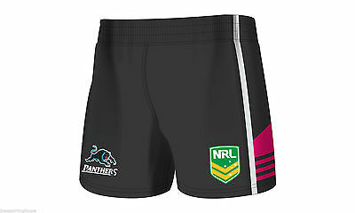 Penrith Panthers NRL Supporters Away On Field Footy Shorts Sizes S-M! ISC