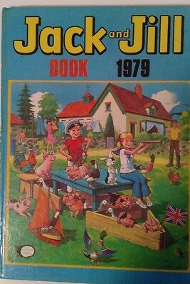 Jack and Jiill Book annual 1979 - Very Good Condition